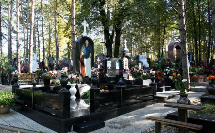 Могилы знаменитостей в - 75