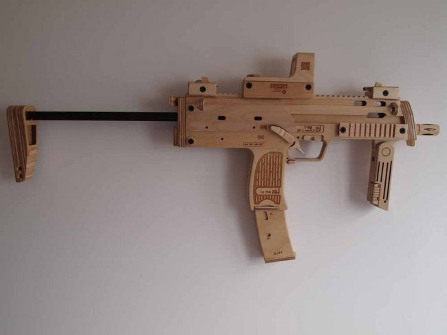 снайперская винтовка своими руками