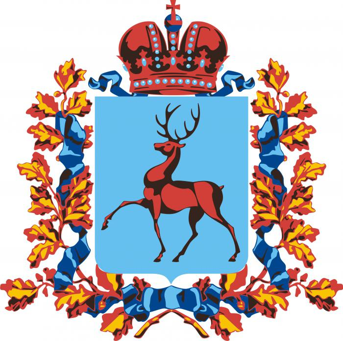 нижний новгород герб картинки или медаль