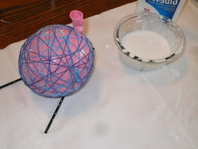 Украшения с шариков своими руками