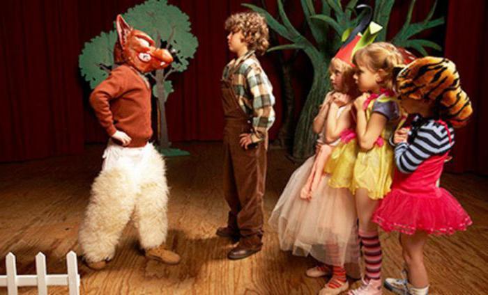 виды театров в детском саду