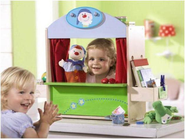 ширма для театра в детском саду