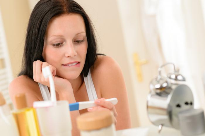 струйный тест на беременность evitest