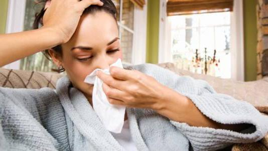 Заложен нос: причины