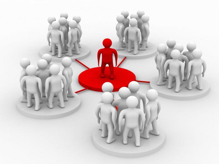 Функции социальных групп