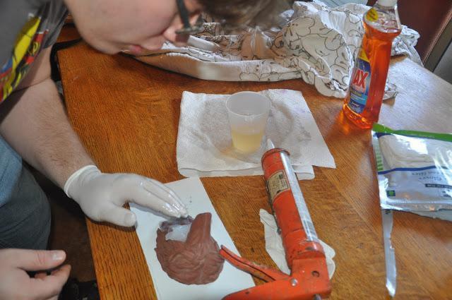 изготовление силикона для форм в домашних условиях
