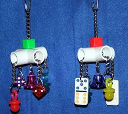 игрушки для попугая своими руками