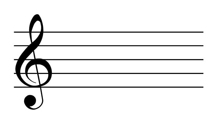 how to draw a treble clef