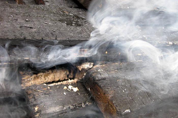 убрать запах после пожара
