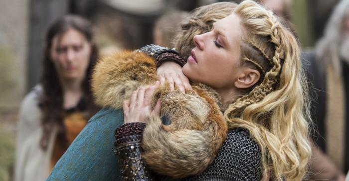 Причёски викингов женские