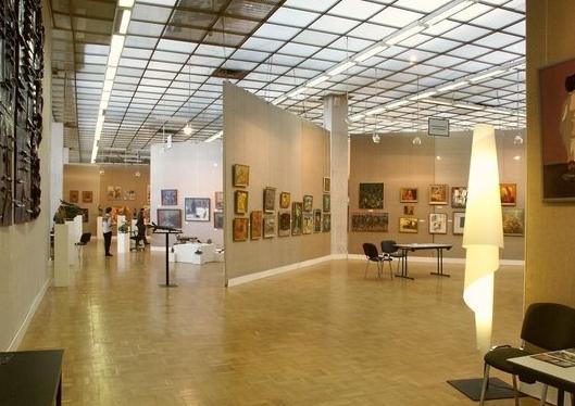 центральный дом художника зал