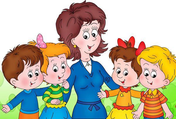знакомство психолога и детей в садике