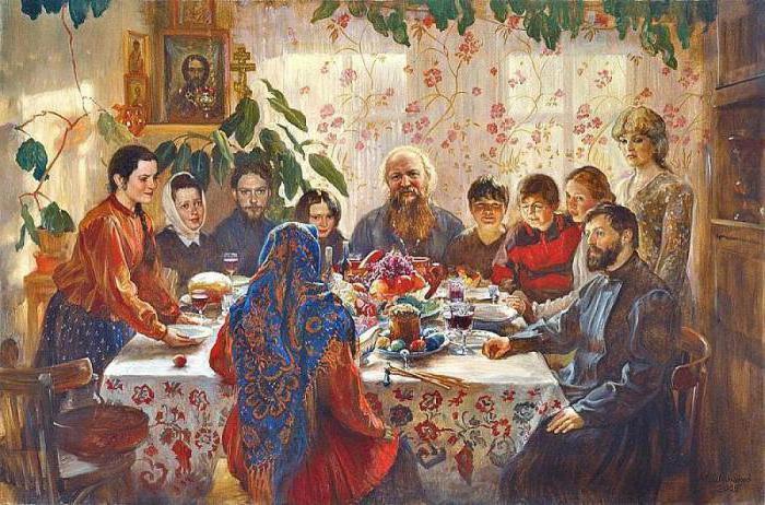 Трапеза — это благодатное насыщение едой
