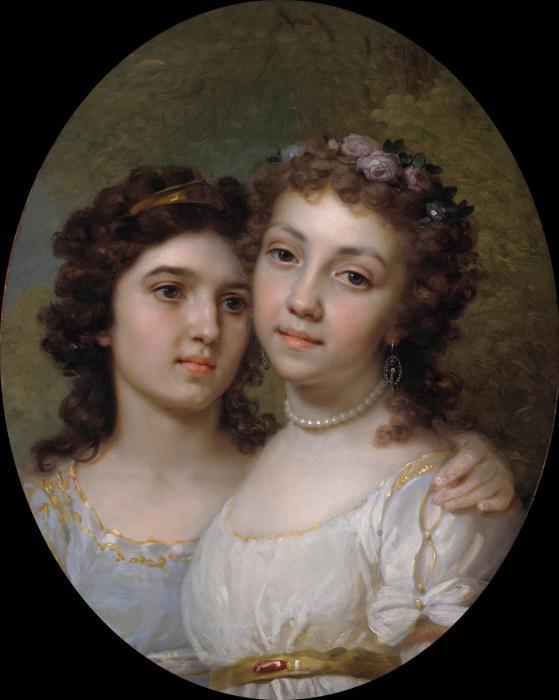 Портреты известных художников