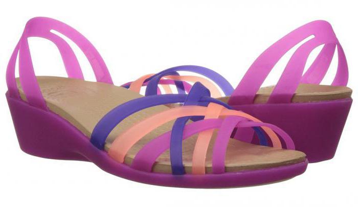 отзывы об обуви крокс для женщин