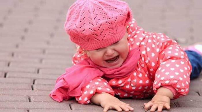ребенок упал и ударился головой комаровский