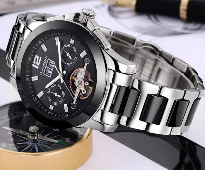 часы relogio masculino guanqin отзывы