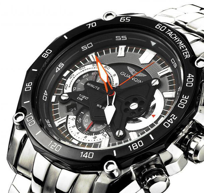 часы мужские фирмы guanqin отзывы