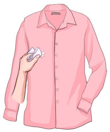 как клей убрать с одежды