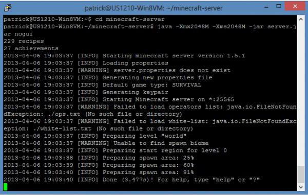 Майнкрафт сервер exe