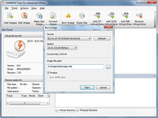 Программы для монтирования образов дисков скачать бесплатно