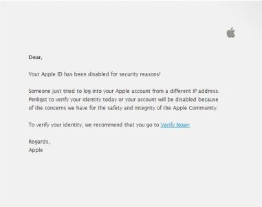 Заблокирован apple id что делать