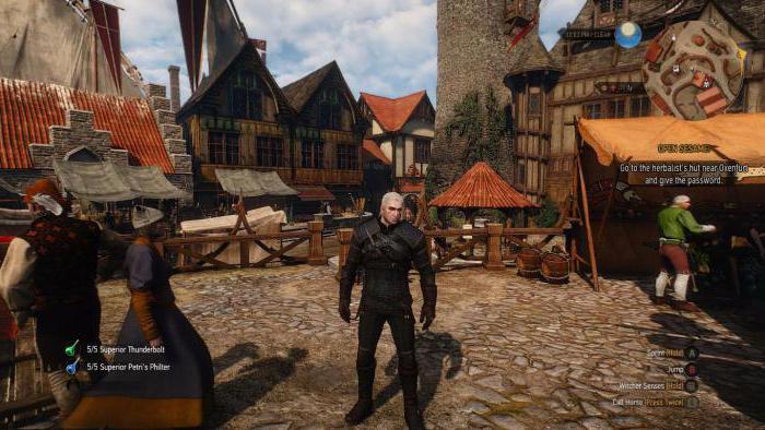 Параметры игры Ведьмак 3