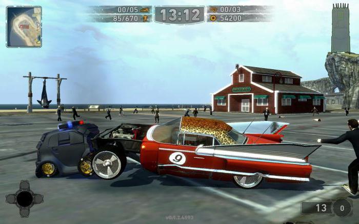 игра про гонки на машинах для детей