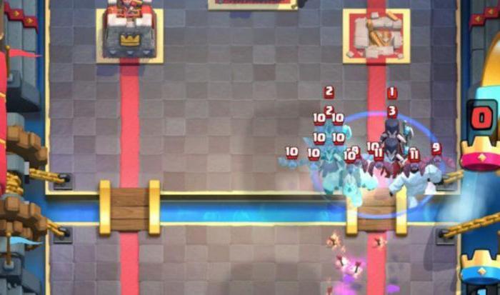 """Колода с """"Принцессой"""" в онлайн-игре Clash Royale"""