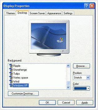 Как на windows 8 поменять картинку на рабочем столе в windows