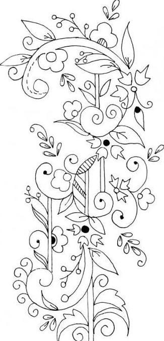 Орнаменты для точечной росписи