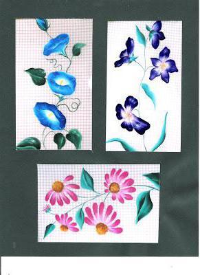 Цветочный орнамент для росписи