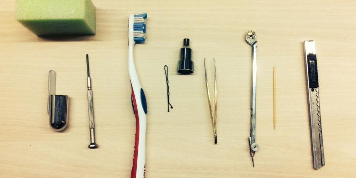 Инструменты для лепки своими руками