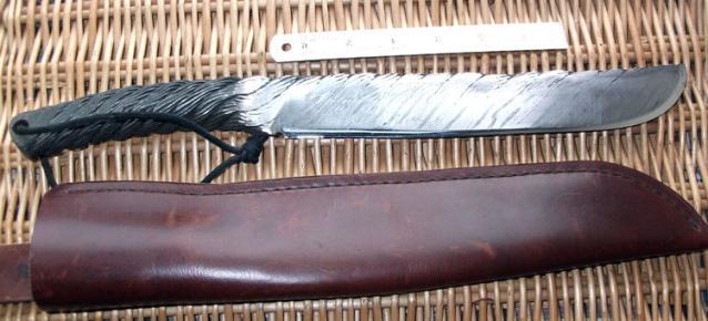 Самодельный нож из троса