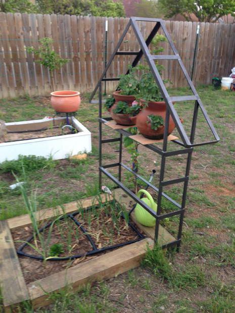Поделки из металла для сада