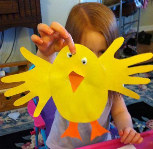 Поделки к Пасхе в детском саду своими руками