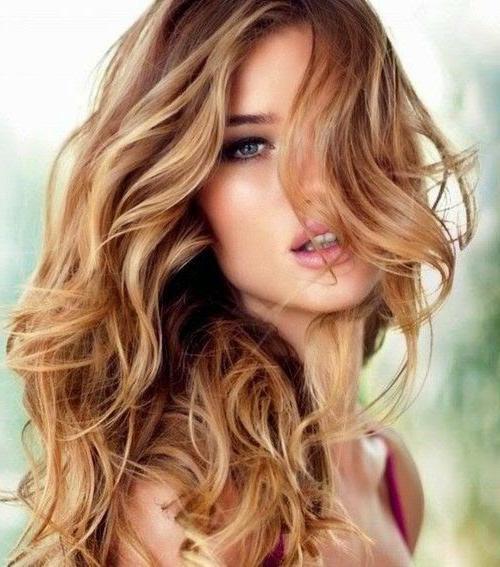 Цвет волосы бронд