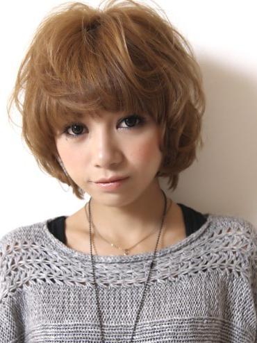 Японские причёски на короткие волосы