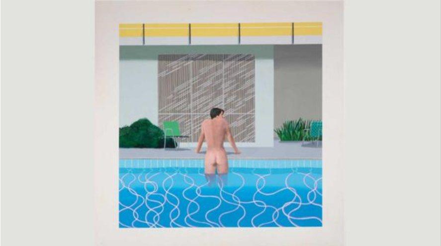 Питер выбирается из бассейна Ника
