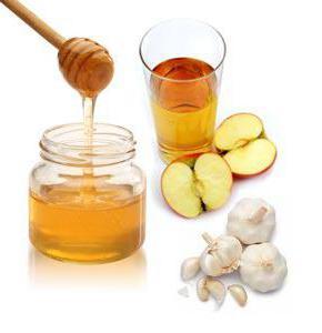 настойка из чеснока меда и яблочного уксуса