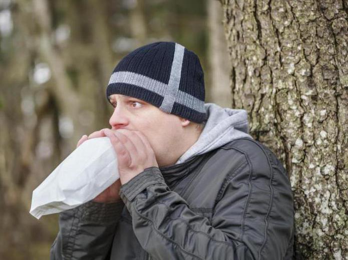 Икота после алкоголя как избавиться
