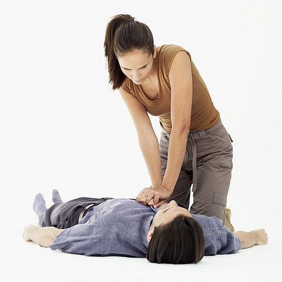 правила искусственного дыхания и непрямого массажа сердца