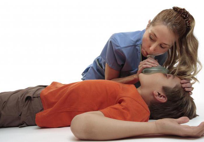 закрытый массаж сердца и искусственное дыхание