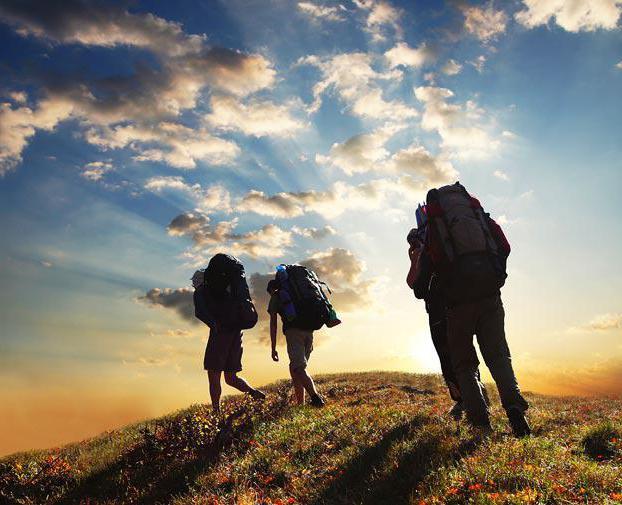 правила безопасного поведения туриста в походе