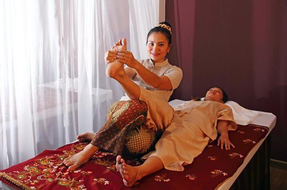 тайский массаж техника
