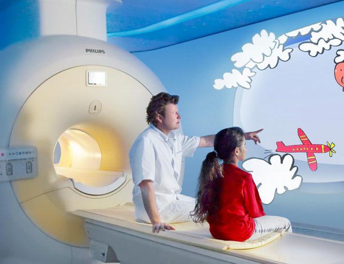 как делают мрт головного мозга с контрастом детям
