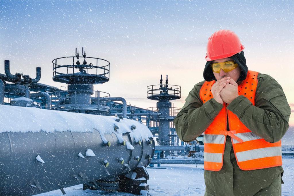 Работа при низких температурах