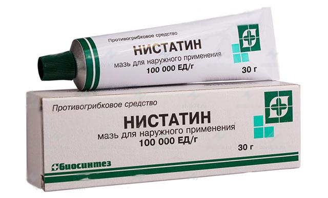 Свечи нистатин это антибиотик или нет