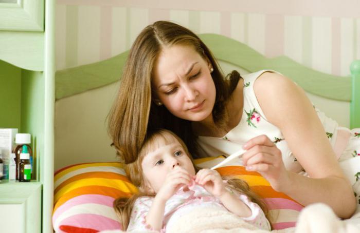 четвертый день у ребенка высокая температура