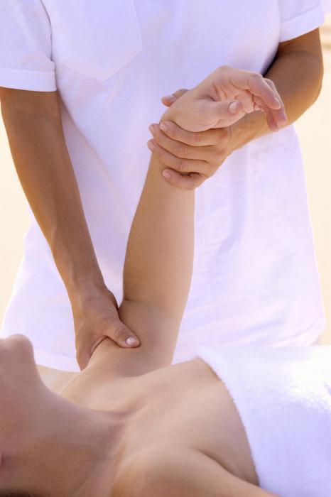 массаж при лимфостазе руки
